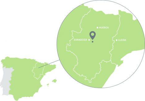 Mapa de localización de Agrinarsa
