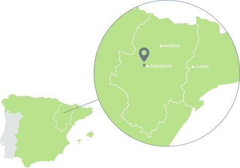 Mapa de localización de Delifactory
