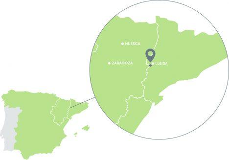 Mapa de localización de Infrusesa