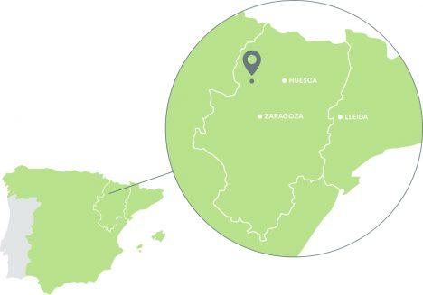 Mapa de localización de Saar