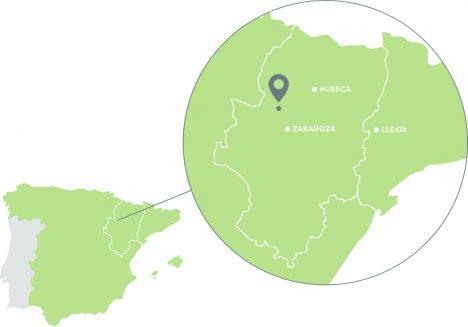 Mapa de localización de Tauste Ganadera